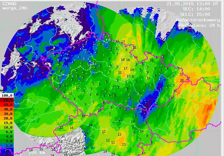 Amatérská meteorologická stanice Františkovy Lázně  014893255d